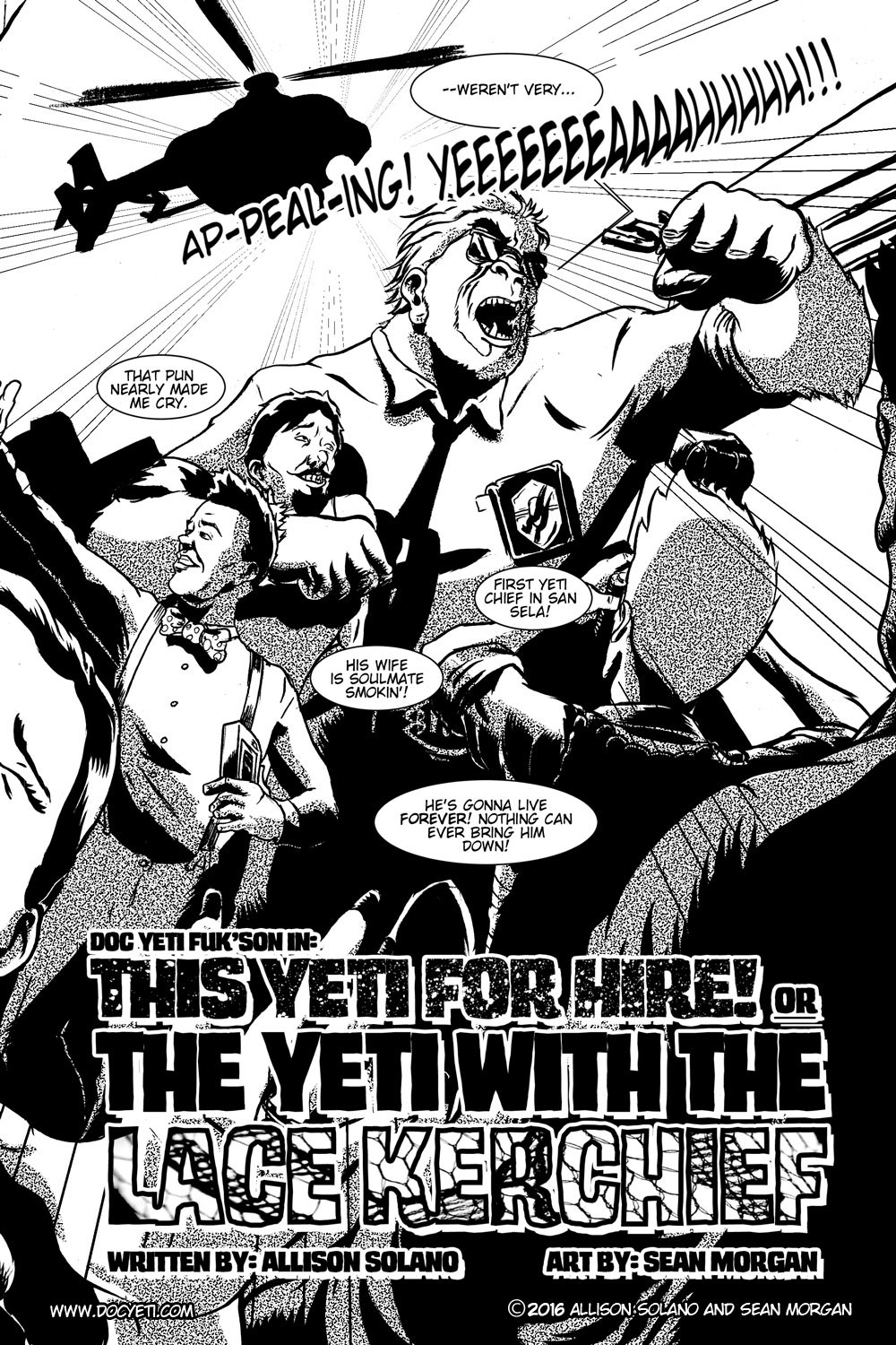 This Yeti for Hire! or the Yeti with the Lace Kerchief! pg.3