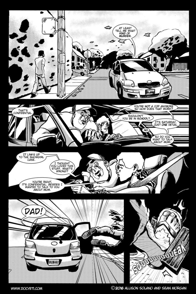 This Yeti for Hire! or the Yeti with the Lace Kerchief! pg.14