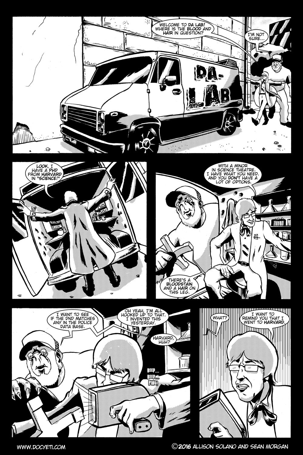 This Yeti for Hire! or the Yeti with the Lace Kerchief! pg.19