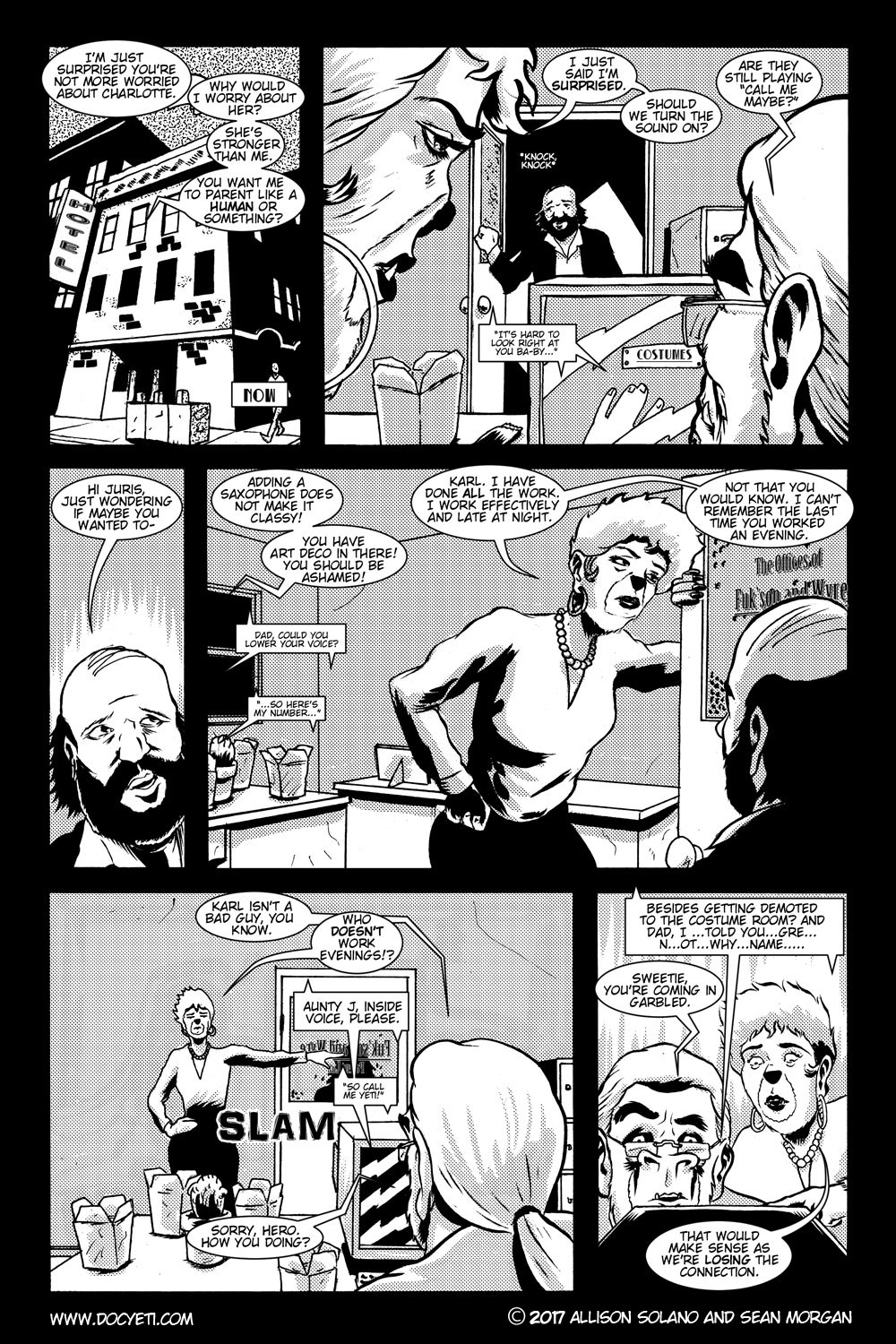 This Yeti for Hire! or the Yeti with the Lace Kerchief! Issue 2 pg.2