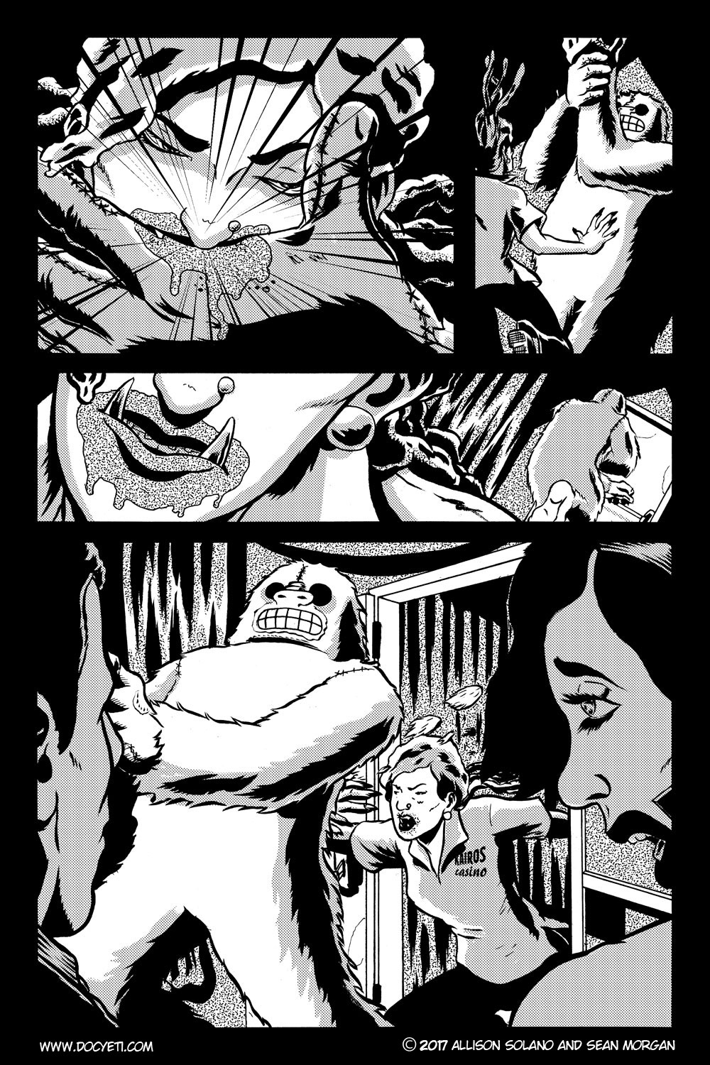This Yeti for Hire! or the Yeti with the Lace Kerchief! Issue 2 pg.21