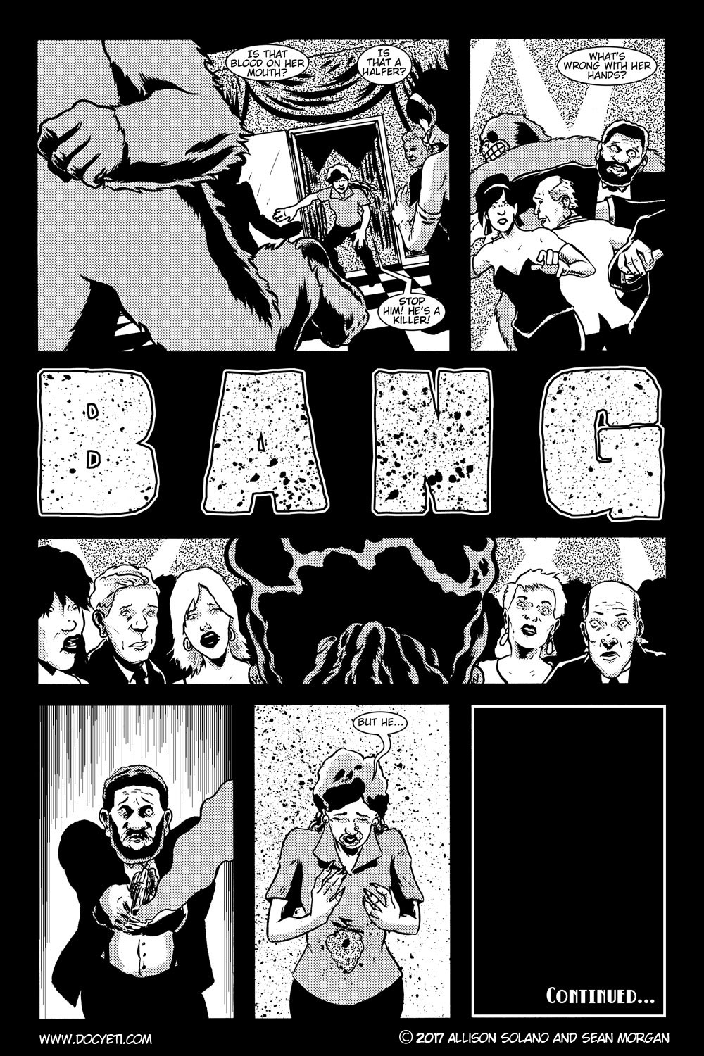 This Yeti for Hire! or the Yeti with the Lace Kerchief! Issue 2 pg.22