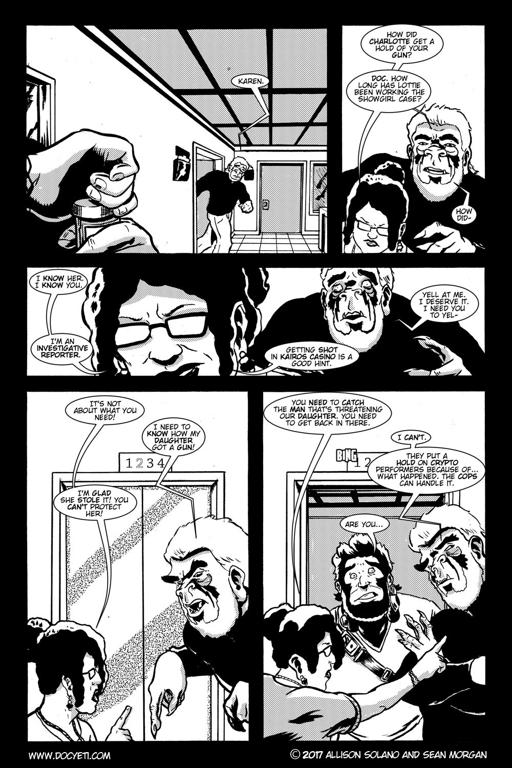 This Yeti for Hire! or the Yeti with the Lace Kerchief! Issue 3 pg.04