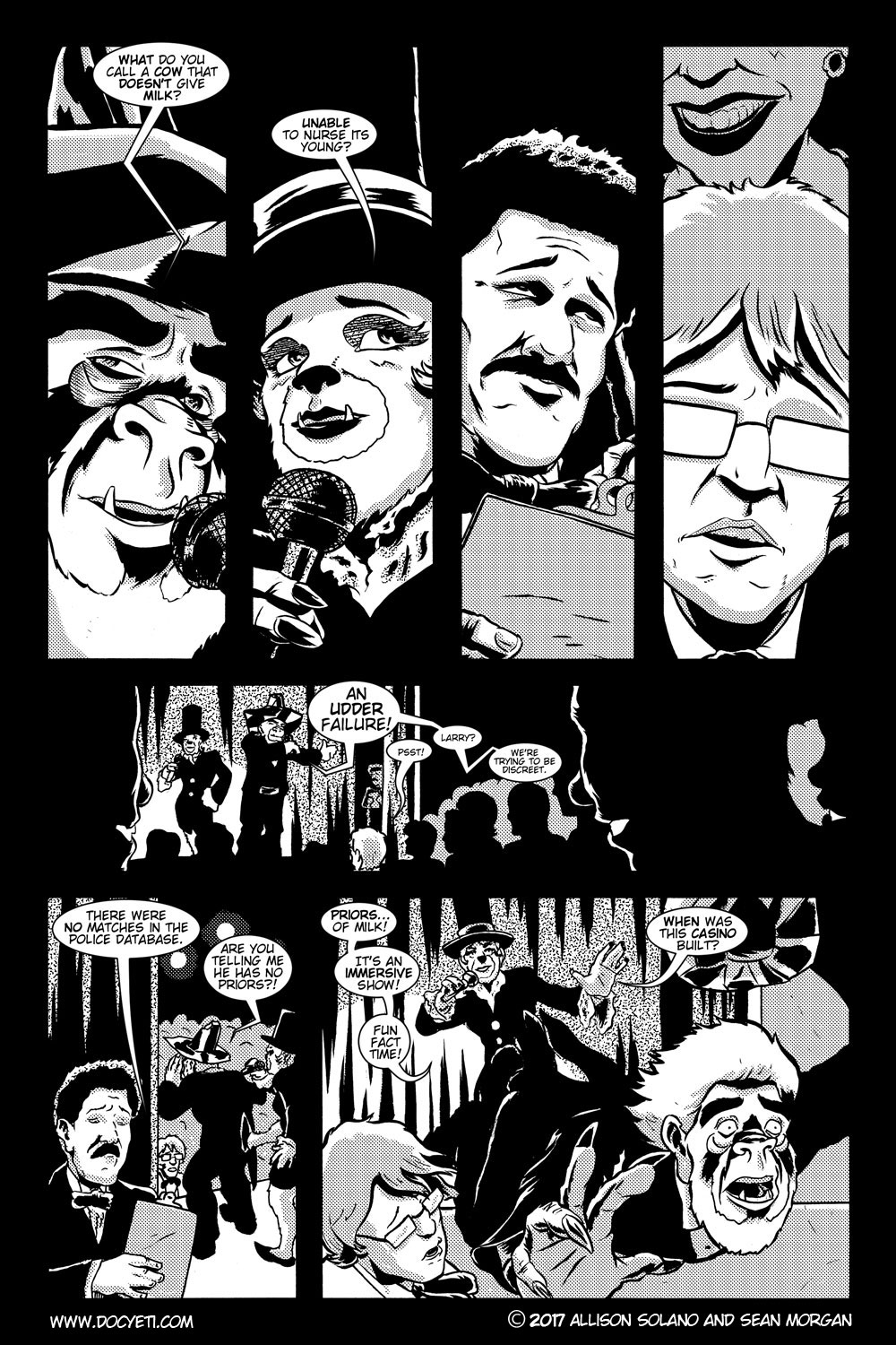 This Yeti for Hire! or the Yeti with the Lace Kerchief! Issue 3 pg.08