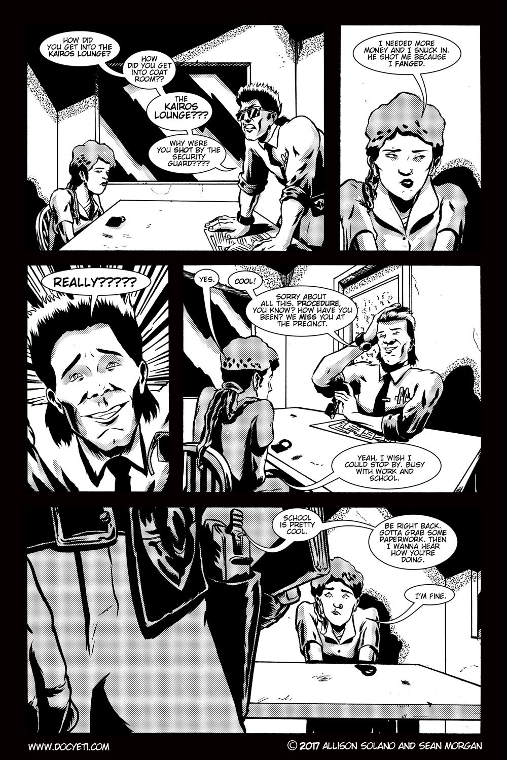 This Yeti for Hire! or the Yeti with the Lace Kerchief! Issue 3 pg.10