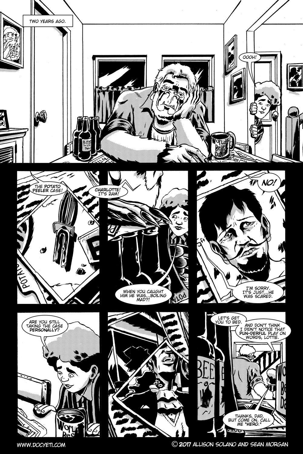 Studying Kills! Issue 1 Pg.1