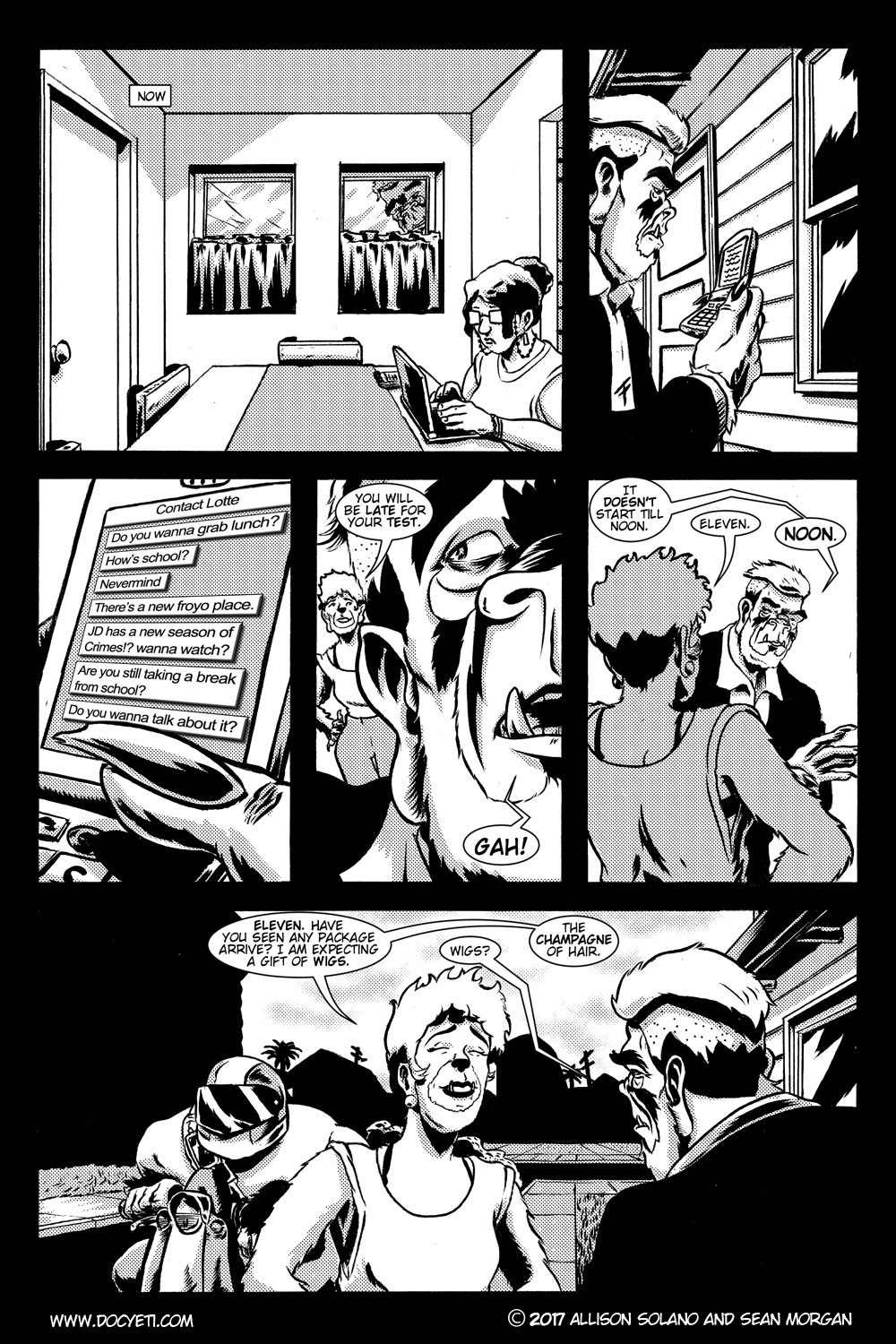 Studying Kills! Issue 1 Pg.2