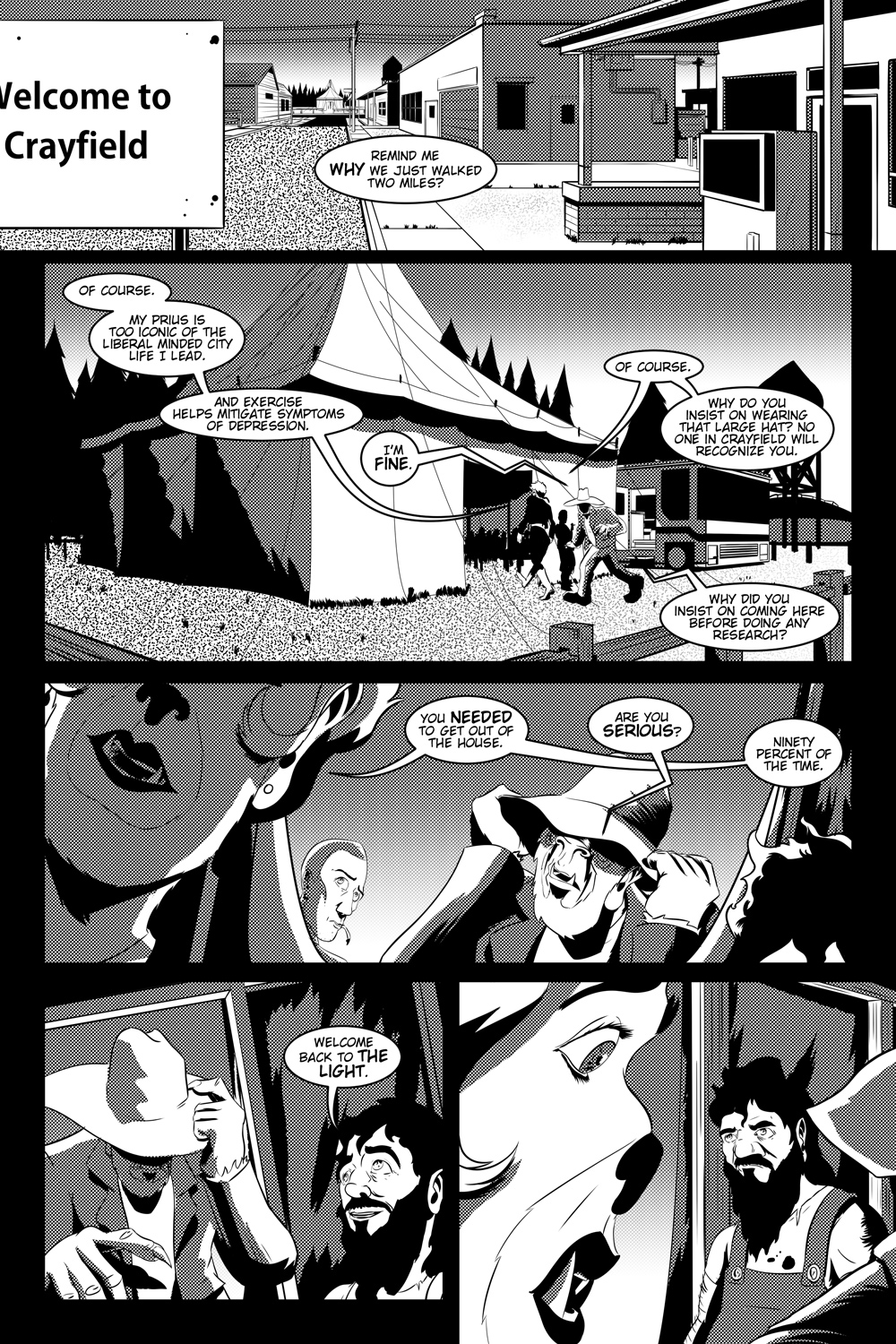 Flight of the Mothman! Issue 1 page 7