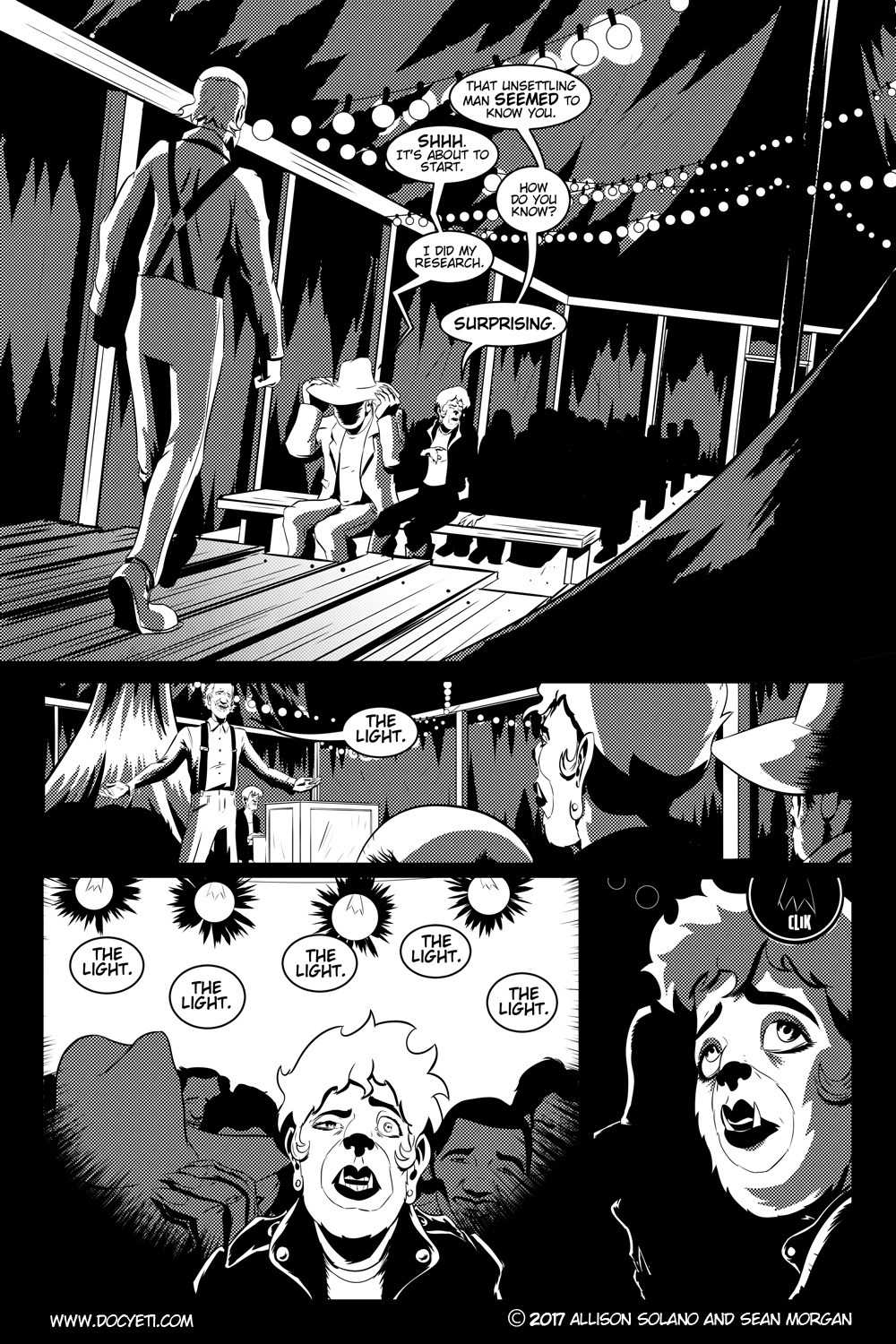 Flight of the Mothman! Issue 1 page 8