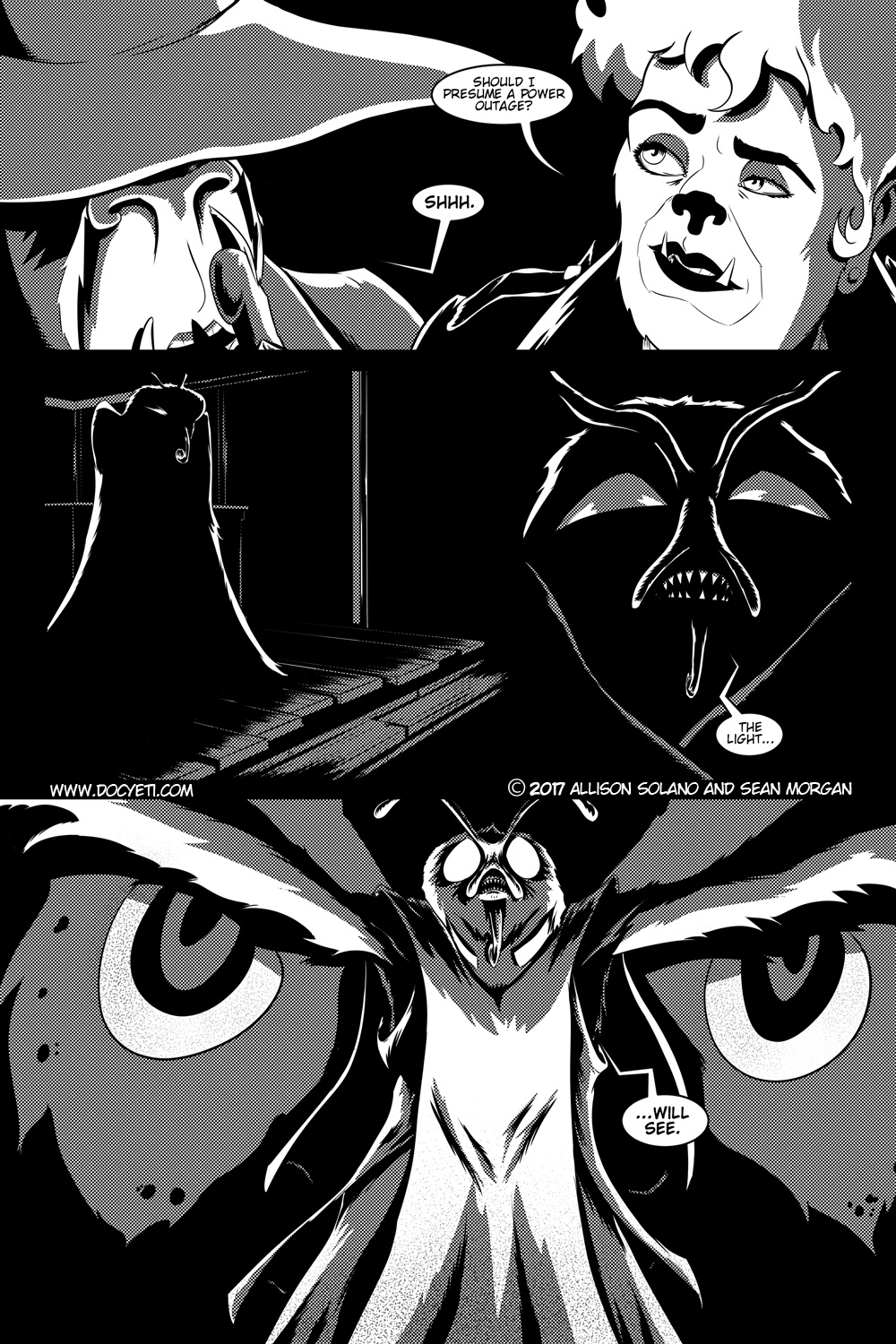Flight of the Mothman! Issue 1 page 9