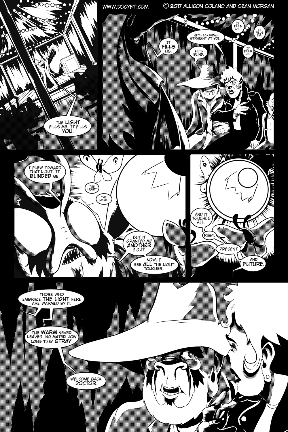 Flight of the Mothman! Issue 1 page 10