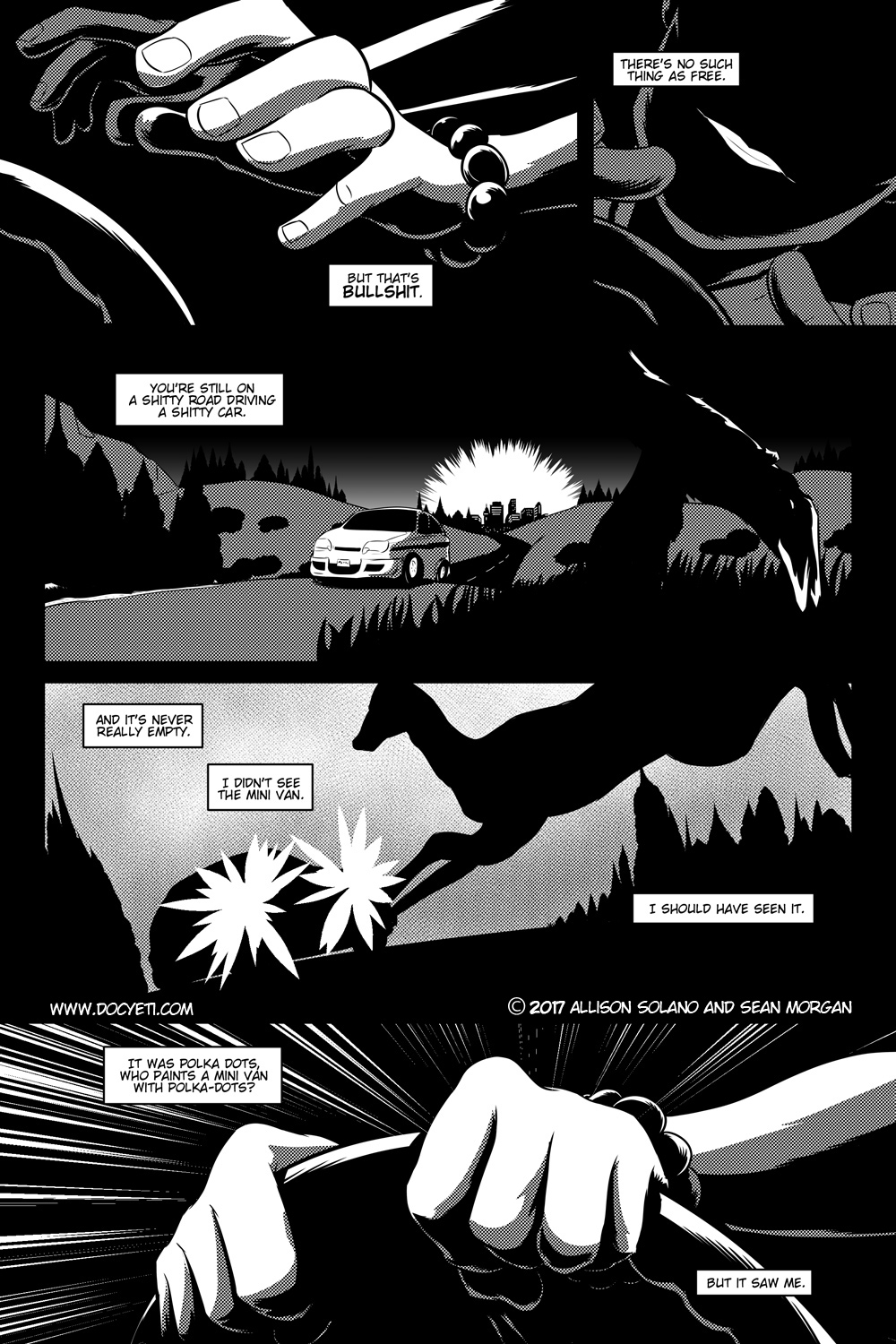 Flight of the Mothman! Issue 1 page 15