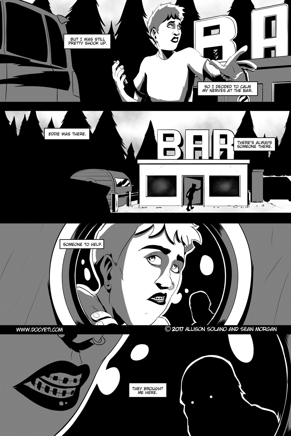 Flight of the Mothman! Issue 1 page 17