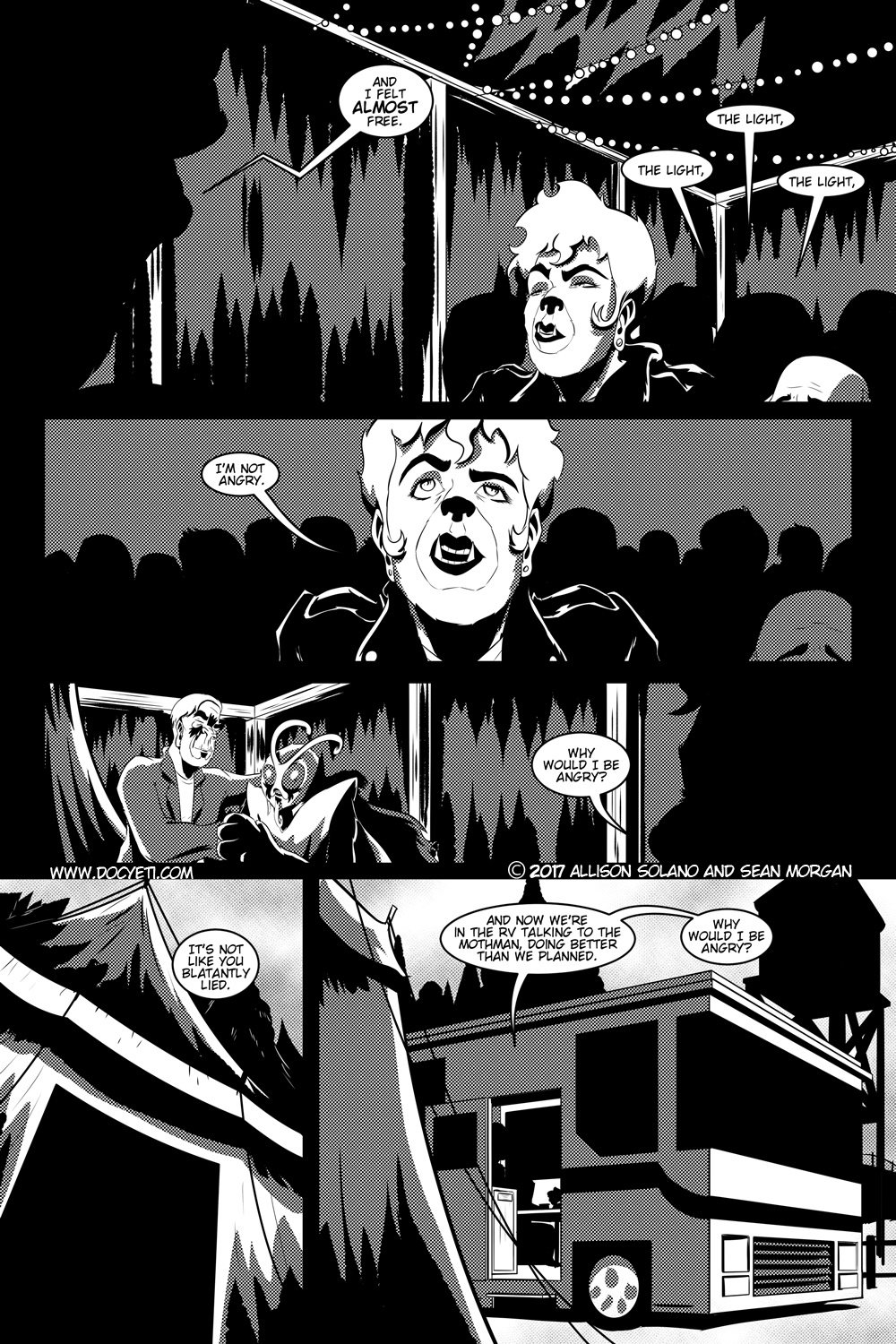 Flight of the Mothman! Issue 1 page 18