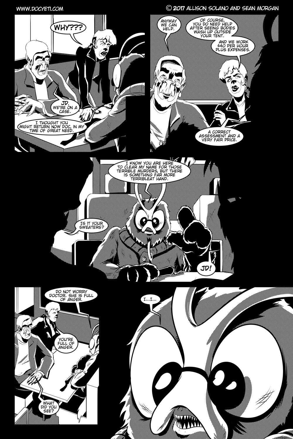 Flight of the Mothman! Issue 1 page 19
