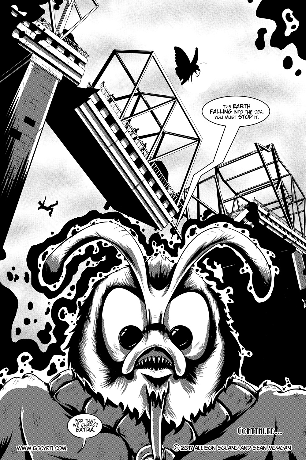 Flight of the Mothman! Issue 1 page 20