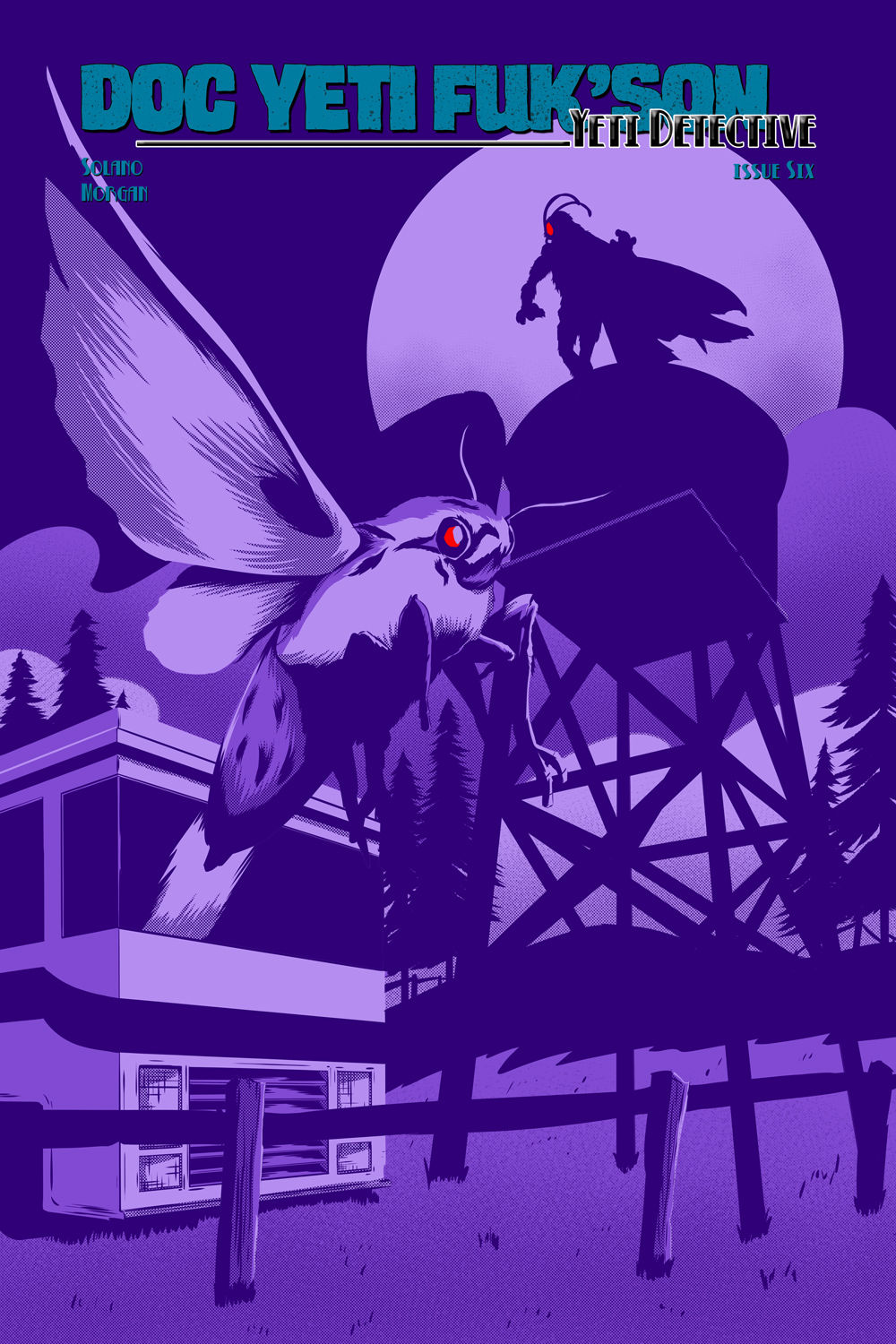 Flight of the Mothman! Issue 1 Cover