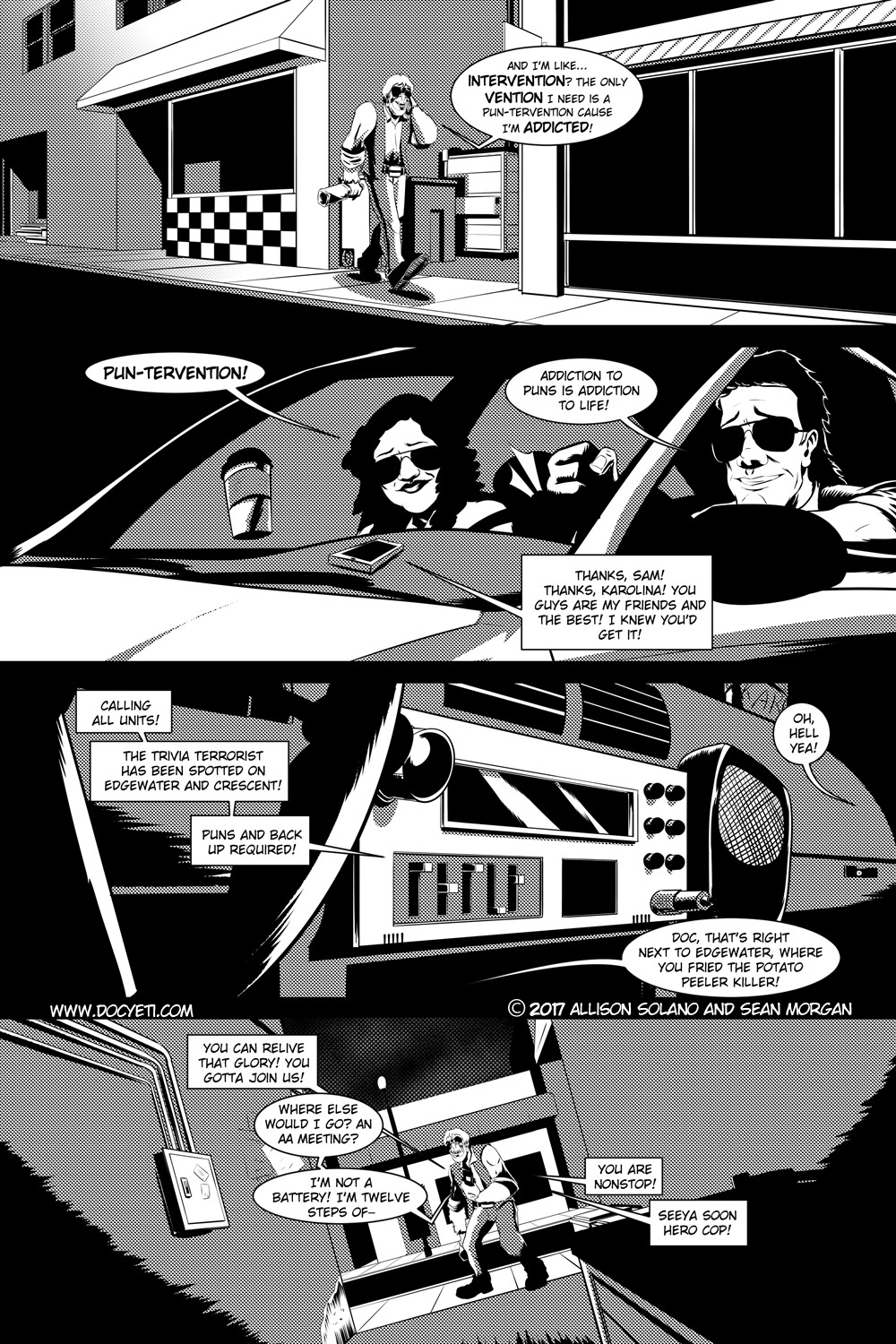 Flight of the Mothman! Issue 2 page 1