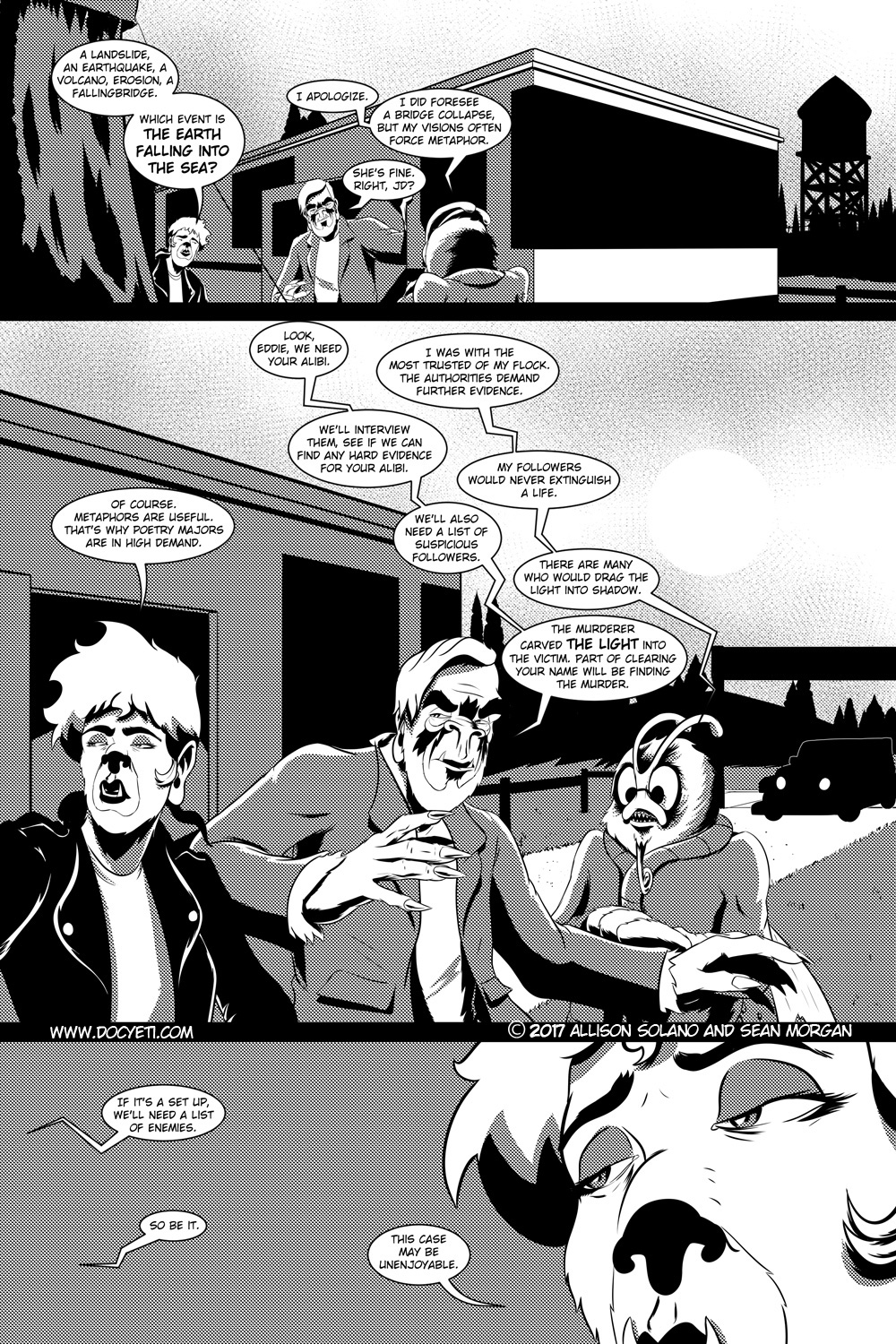 Flight of the Mothman! Issue 2 page 3