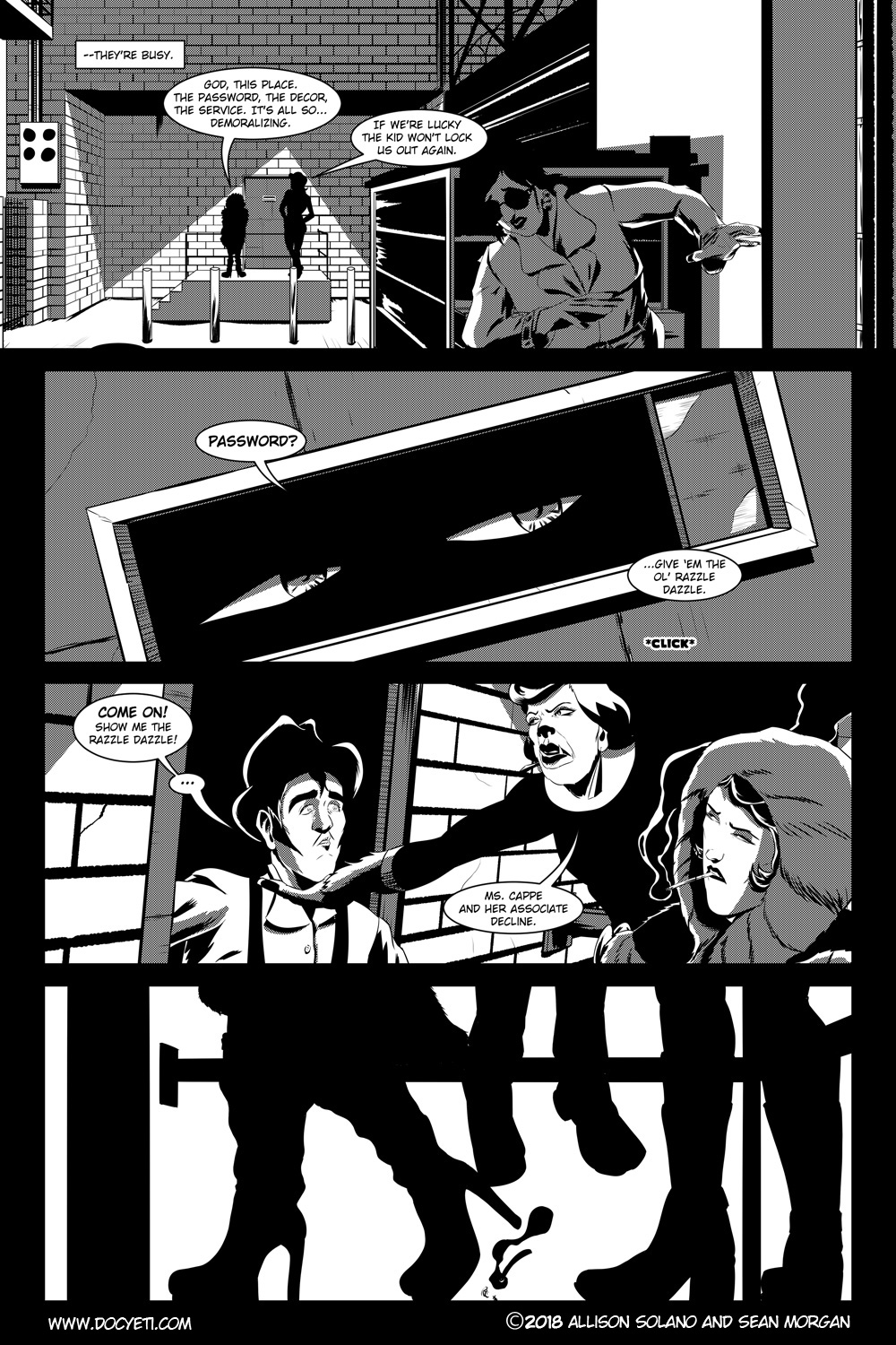 Flight of the Mothman! Issue 2 page 7