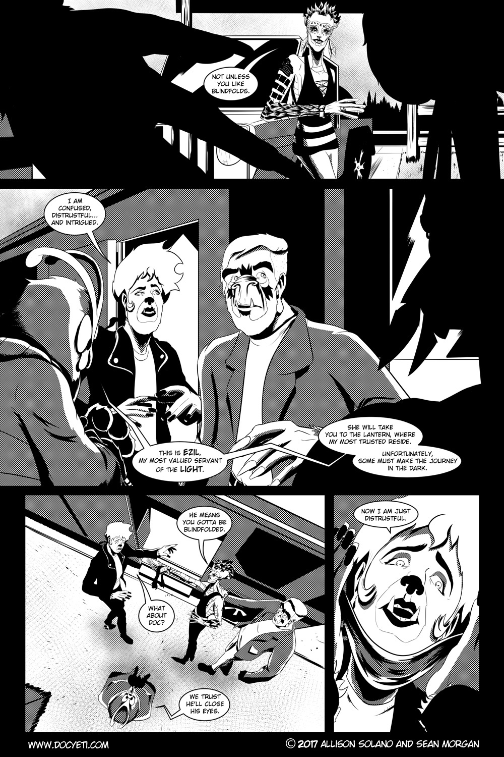 Flight of the Mothman! Issue 2 page 4