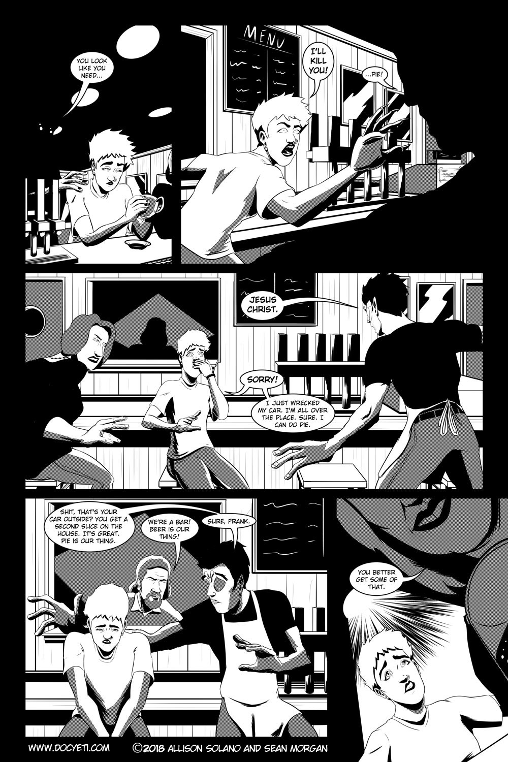 Flight of the Mothman! Issue 2 page 5