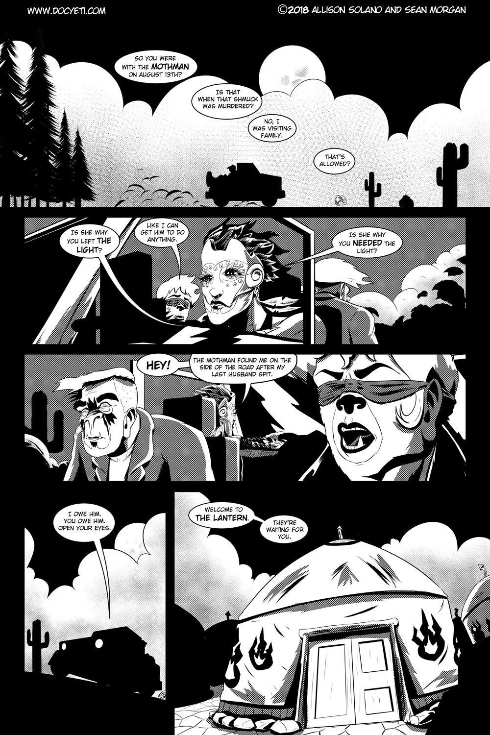 Flight of the Mothman! Issue 2 page 9