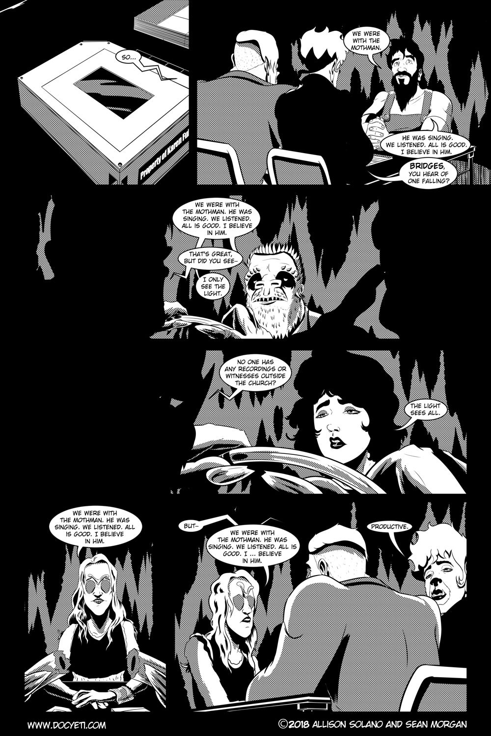 Flight of the Mothman! Issue 2 page 10