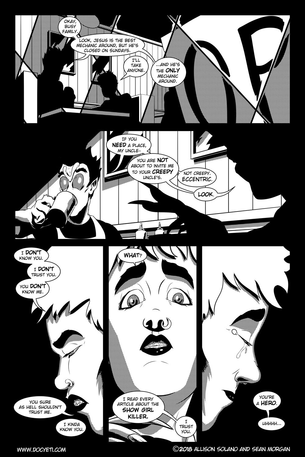 Flight of the Mothman! Issue 2 page 11