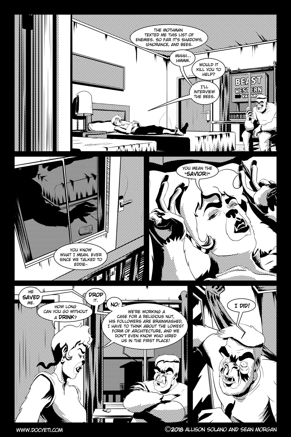Flight of the Mothman! Issue 2 page 13