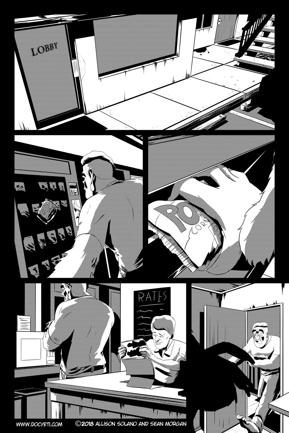 Flight of the Mothman! Issue 2 page 15