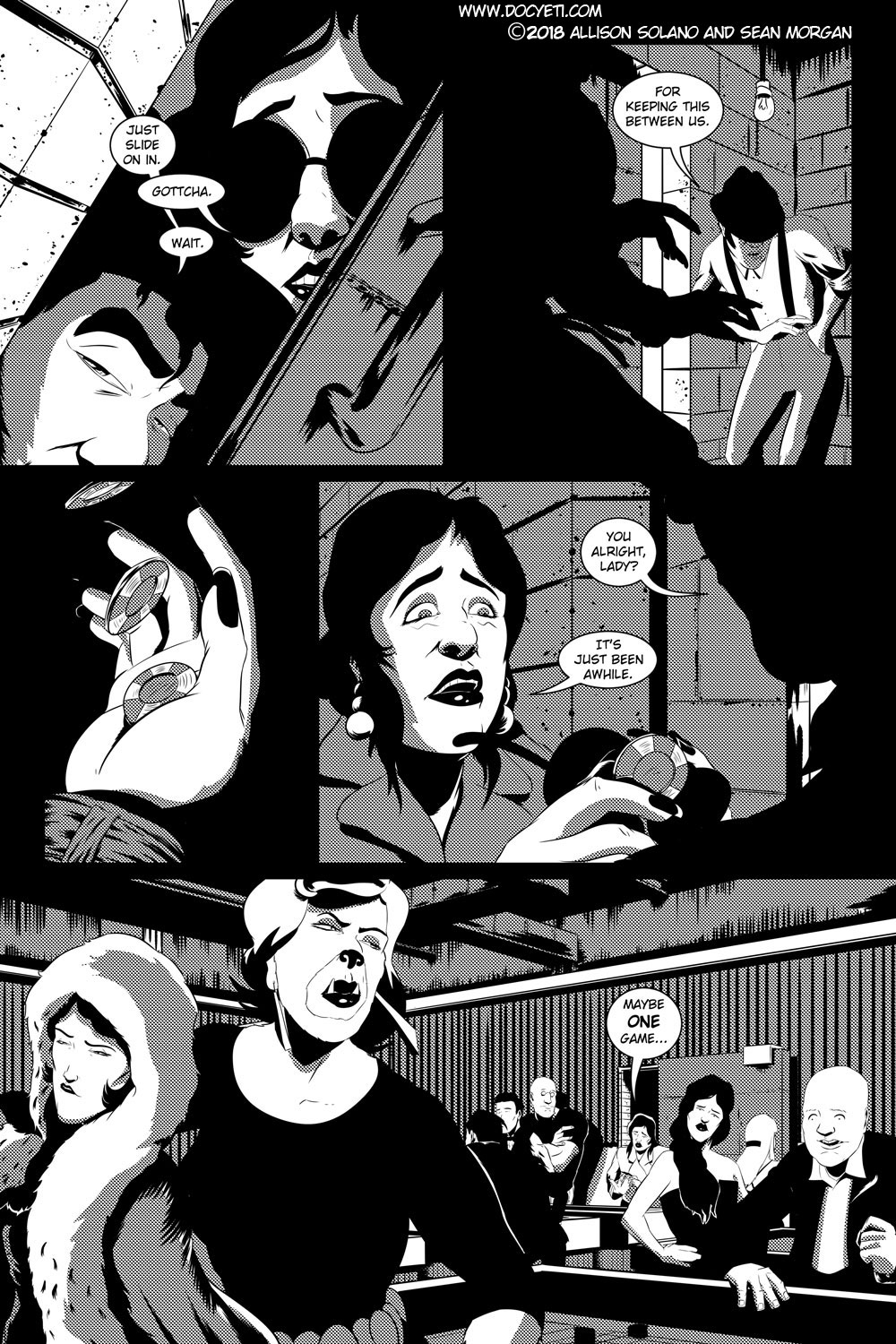 Flight of the Mothman! Issue 2 page 18