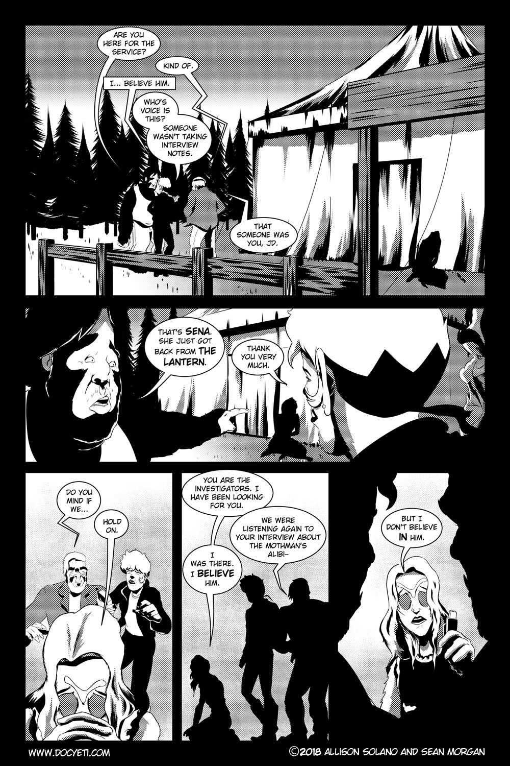 Flight of the Mothman! Issue 2 page 19