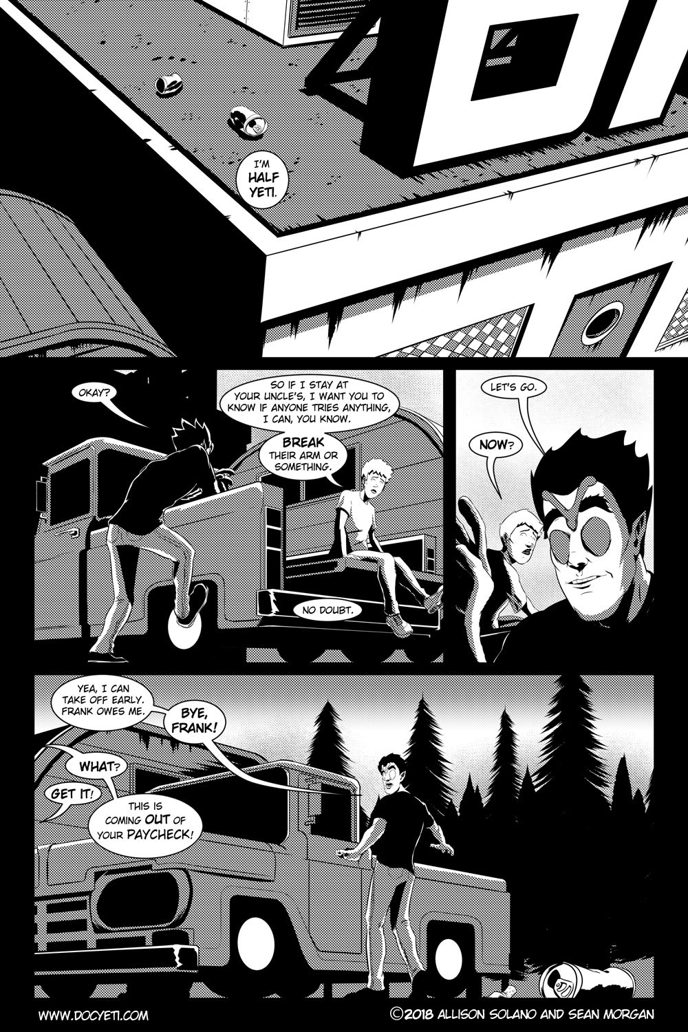 Flight of the Mothman! Issue 2 page 20