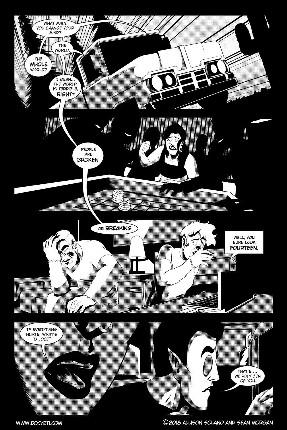 Flight of the Mothman! Issue 2 page 21