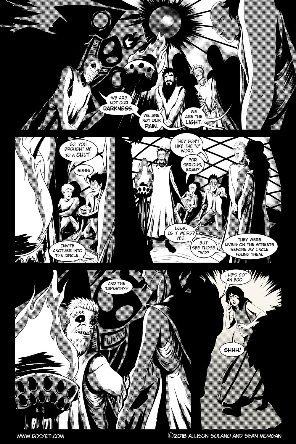 Flight of the Mothman! Issue 3 page 3