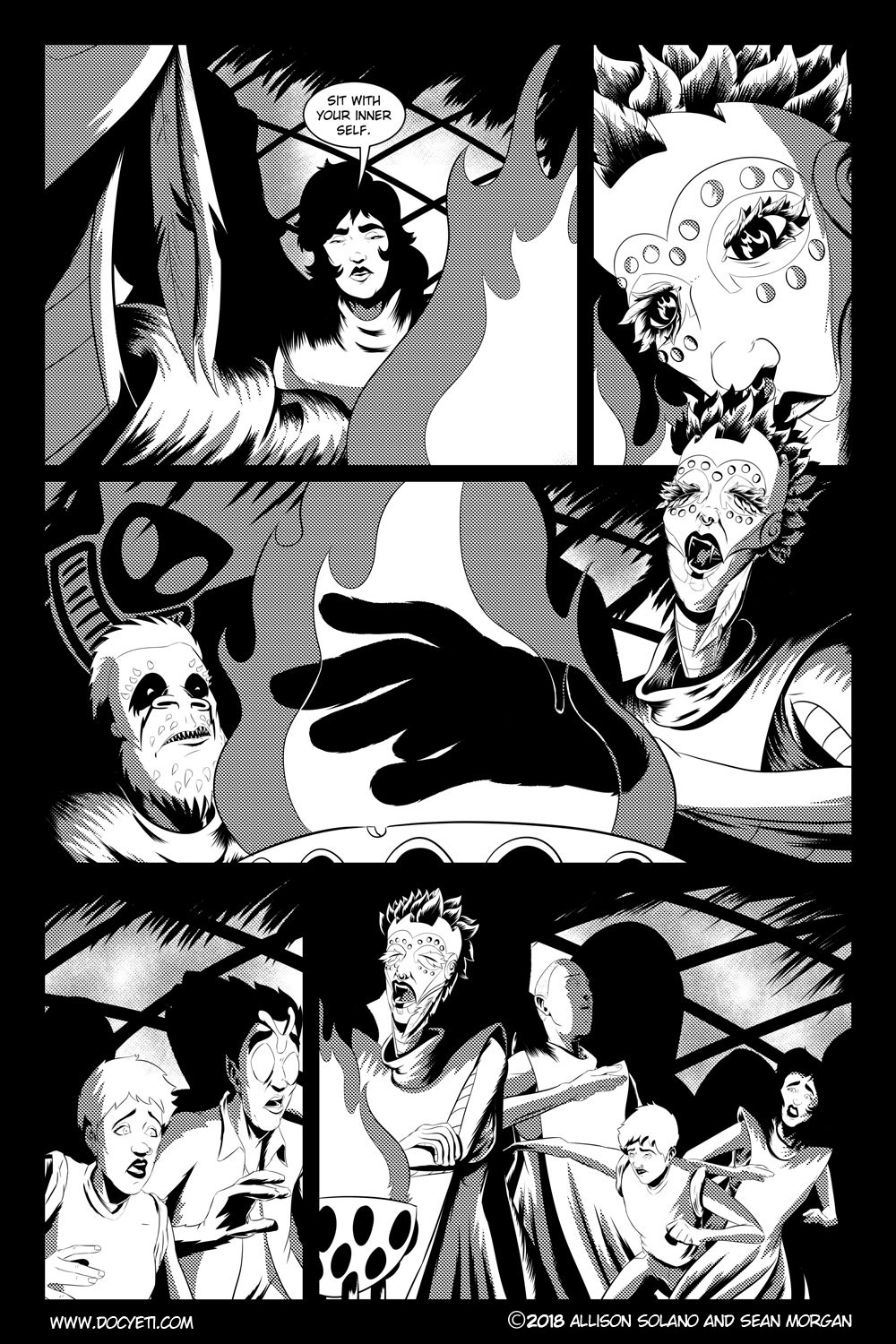 Flight of the Mothman! Issue 3 page 4