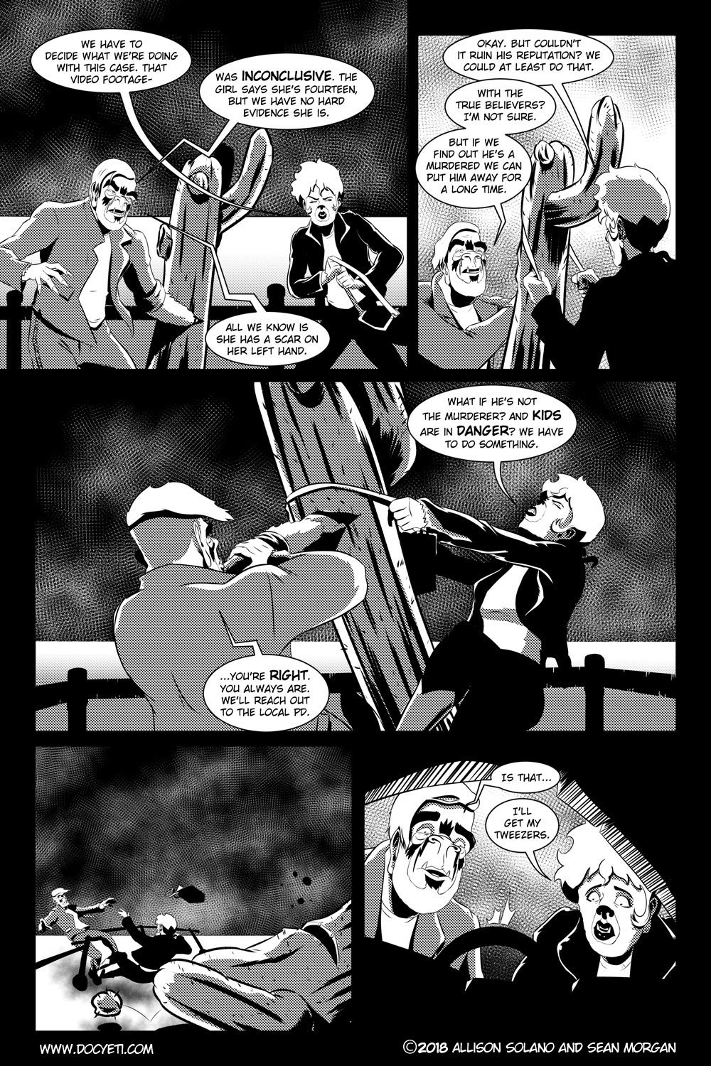 Flight of the Mothman! Issue 3 page 9