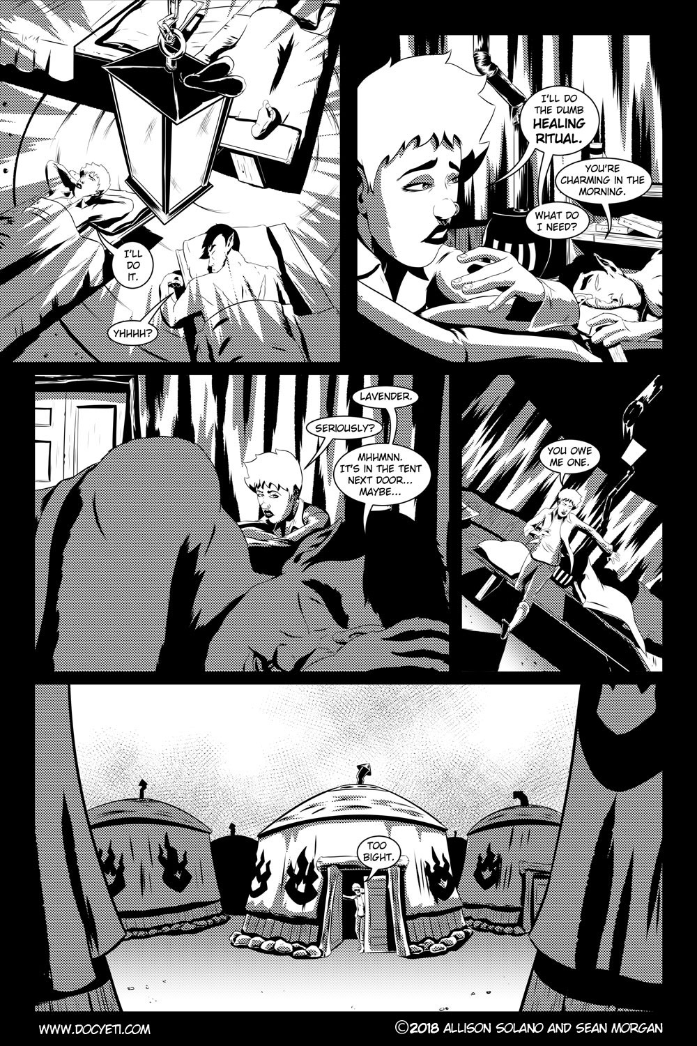 Flight of the Mothman! Issue 3 page 15