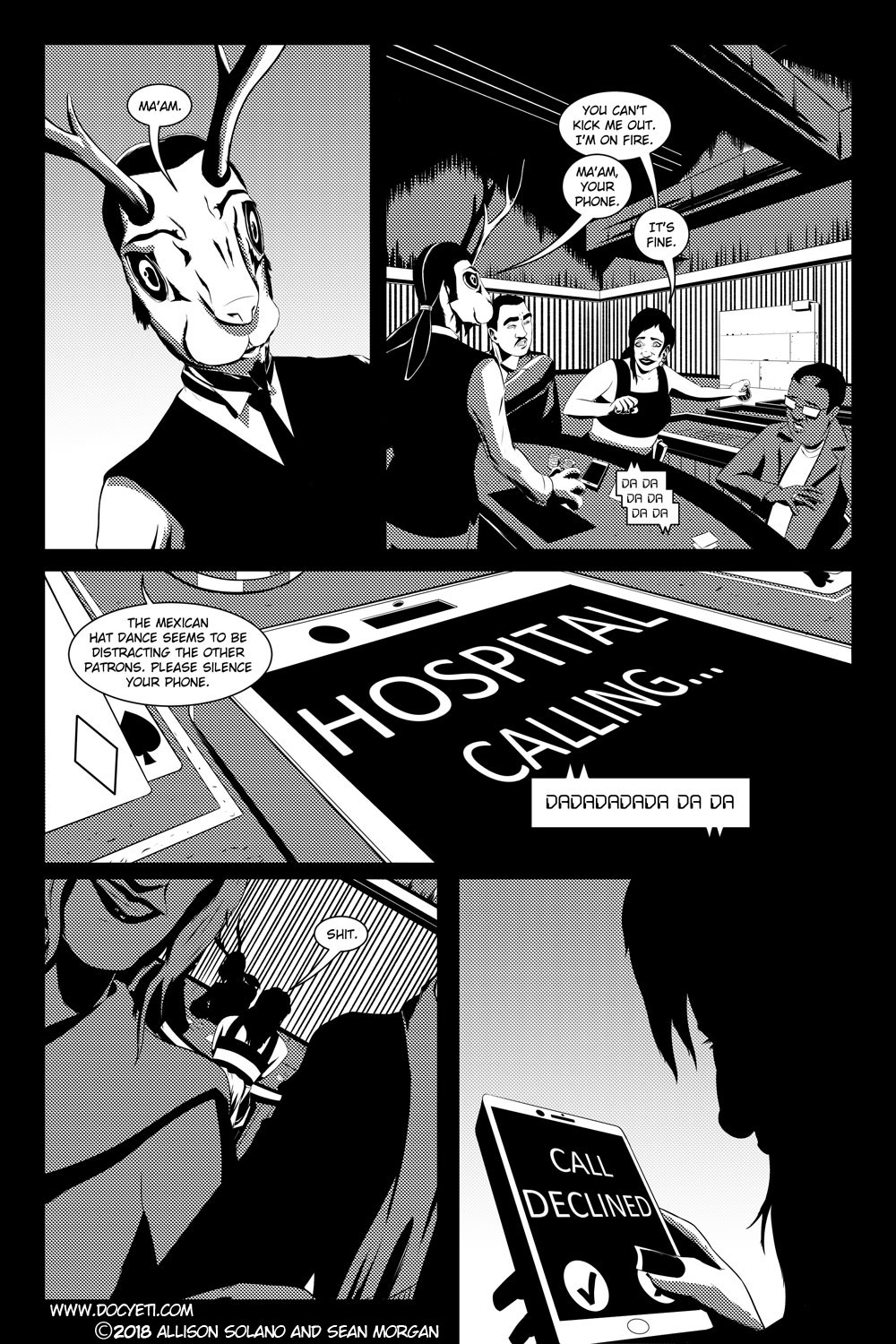 Flight of the Mothman! Issue 4 Page 5