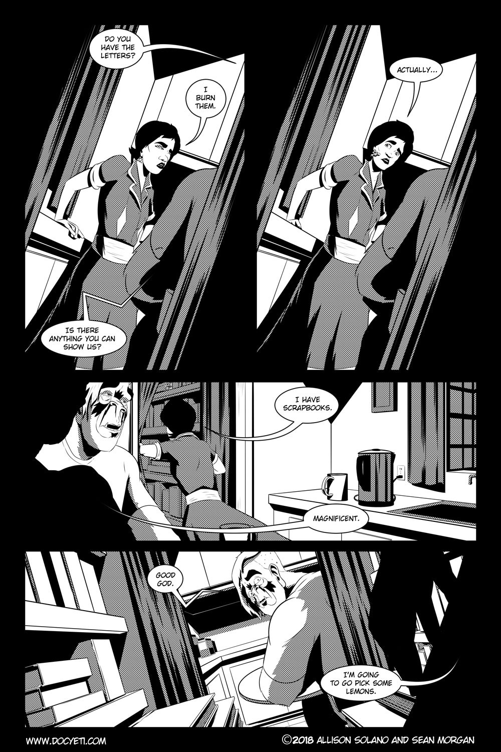 Flight of the Mothman! Issue 4 Page 10