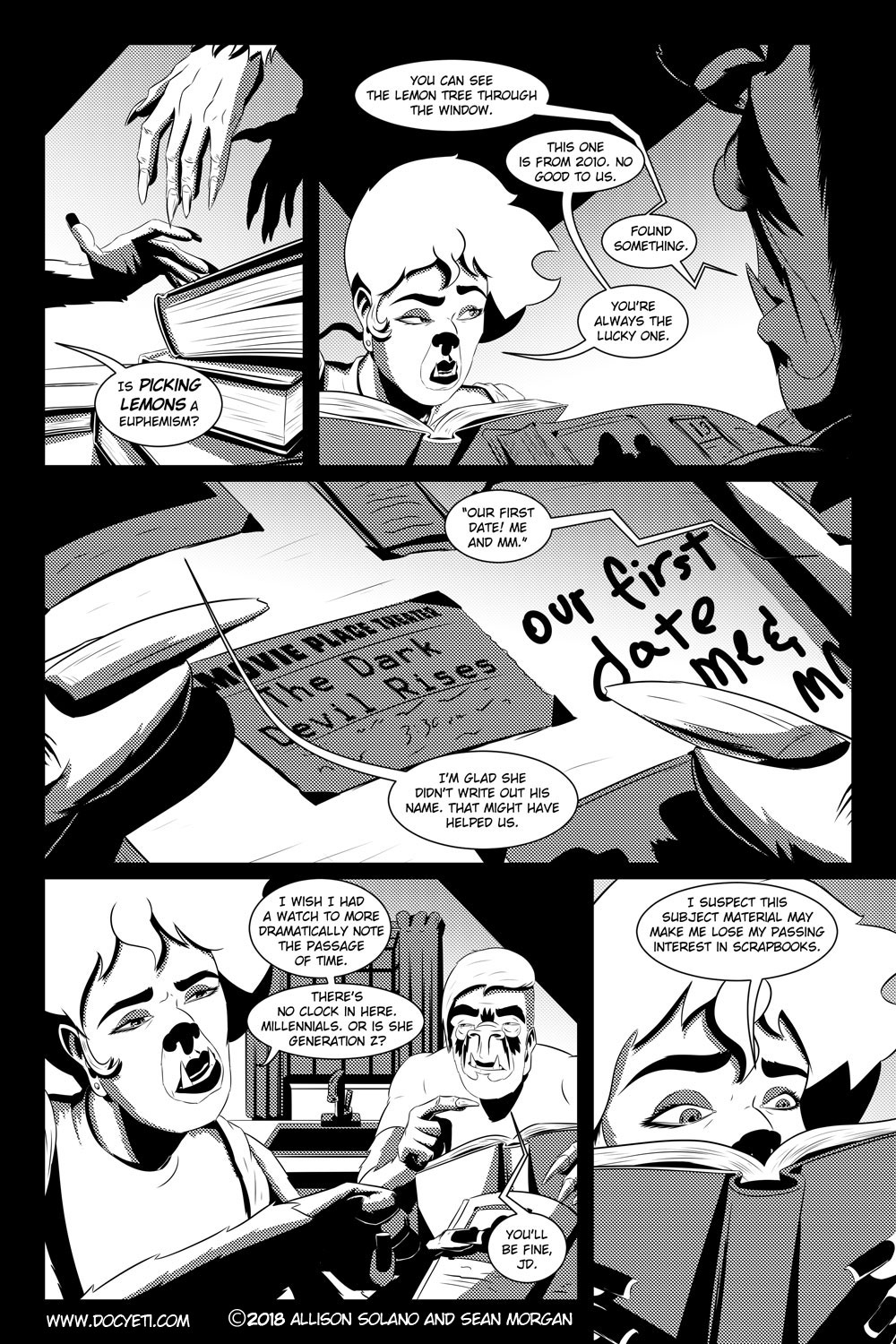 Flight of the Mothman! Issue 4 Page 11