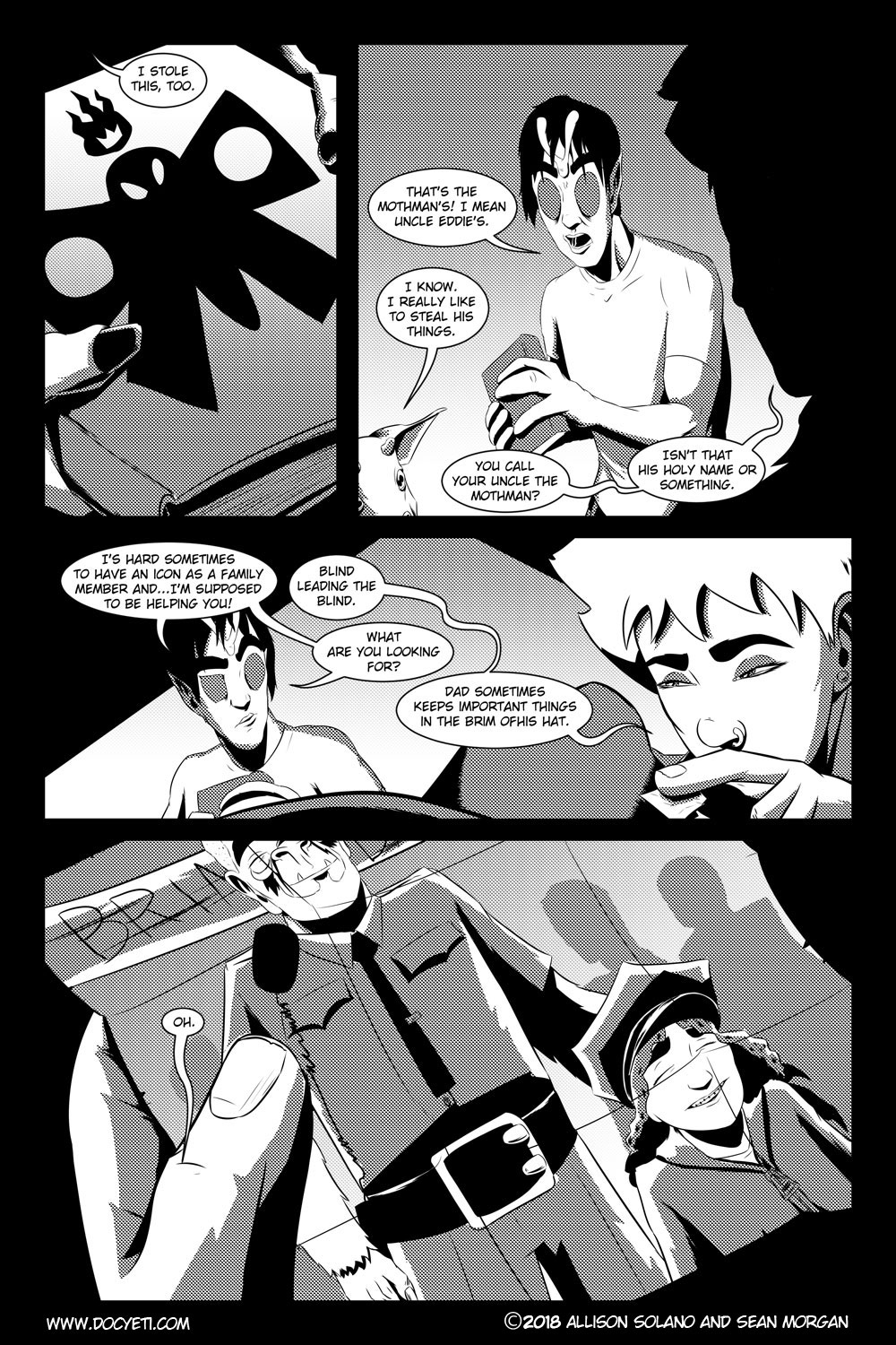 Flight of the Mothman! Issue 4 Page 13