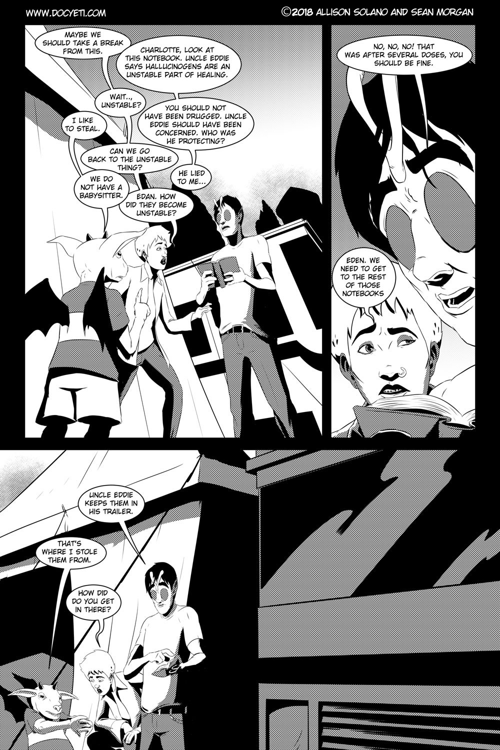 Flight of the Mothman! Issue 4 Page 17