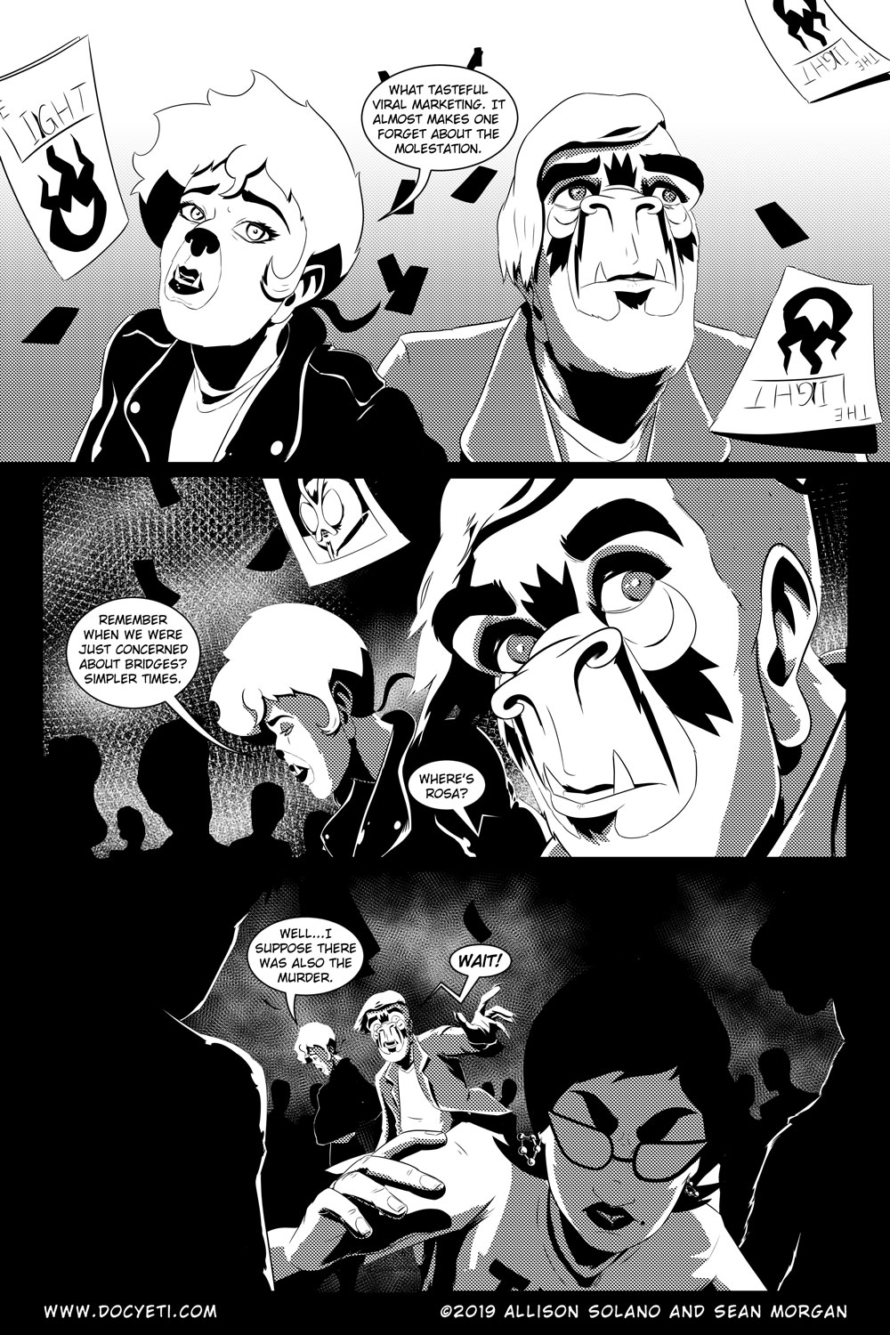 Flight of the Mothman! Issue 5 Page 6