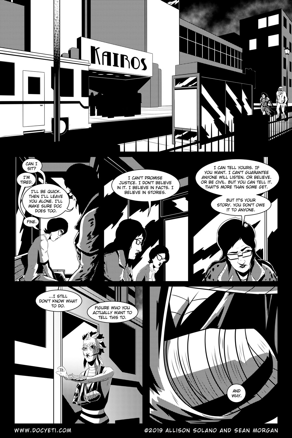Flight of the Mothman! Issue 5 Page 8