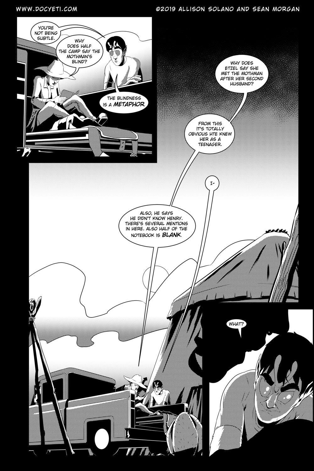 Flight of the Mothman! Issue 5 Page 9