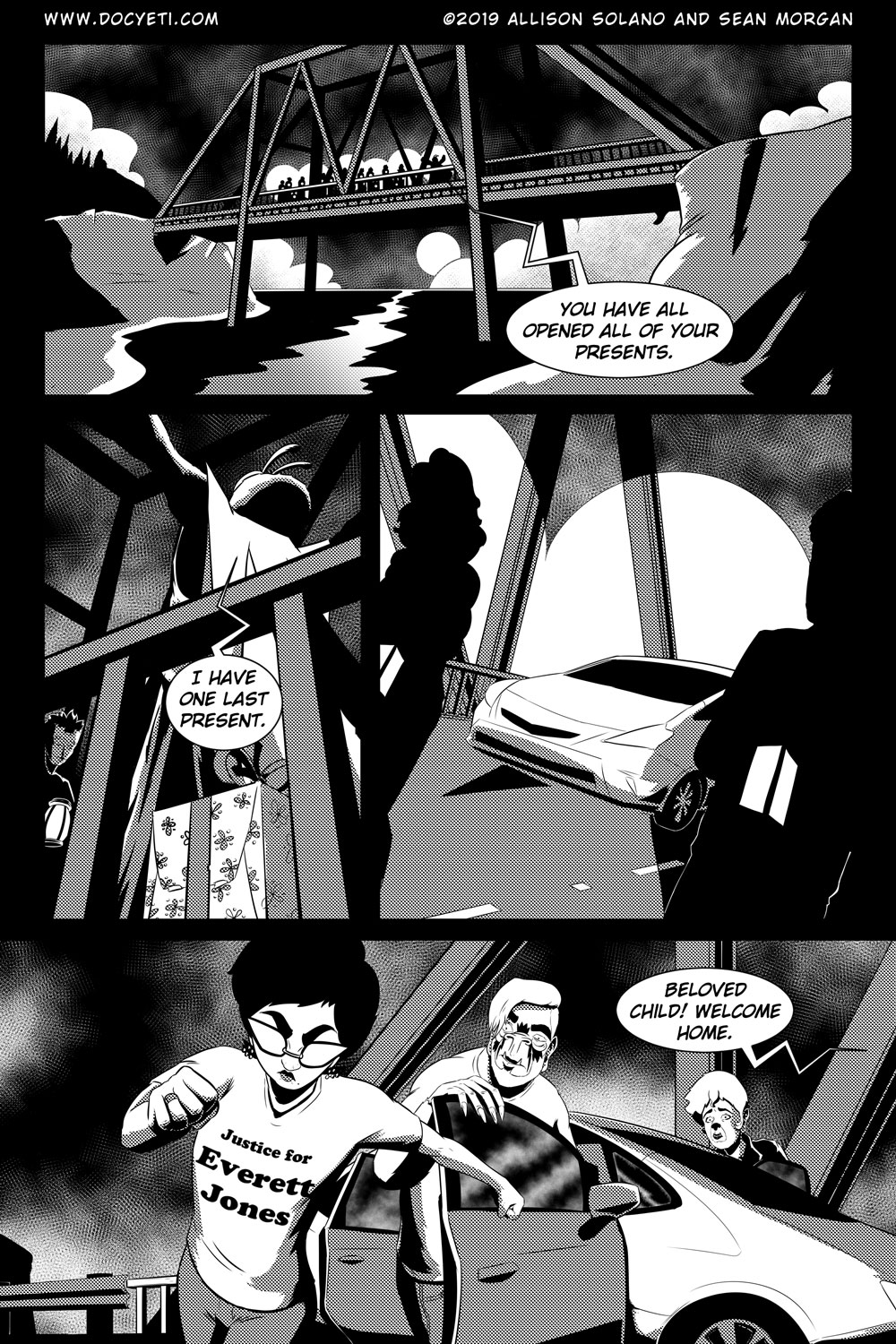 Flight of the Mothman! Issue 5 Page 19