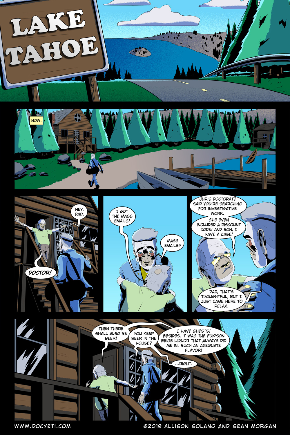 Hungry Eyes! Part 1 Page 2