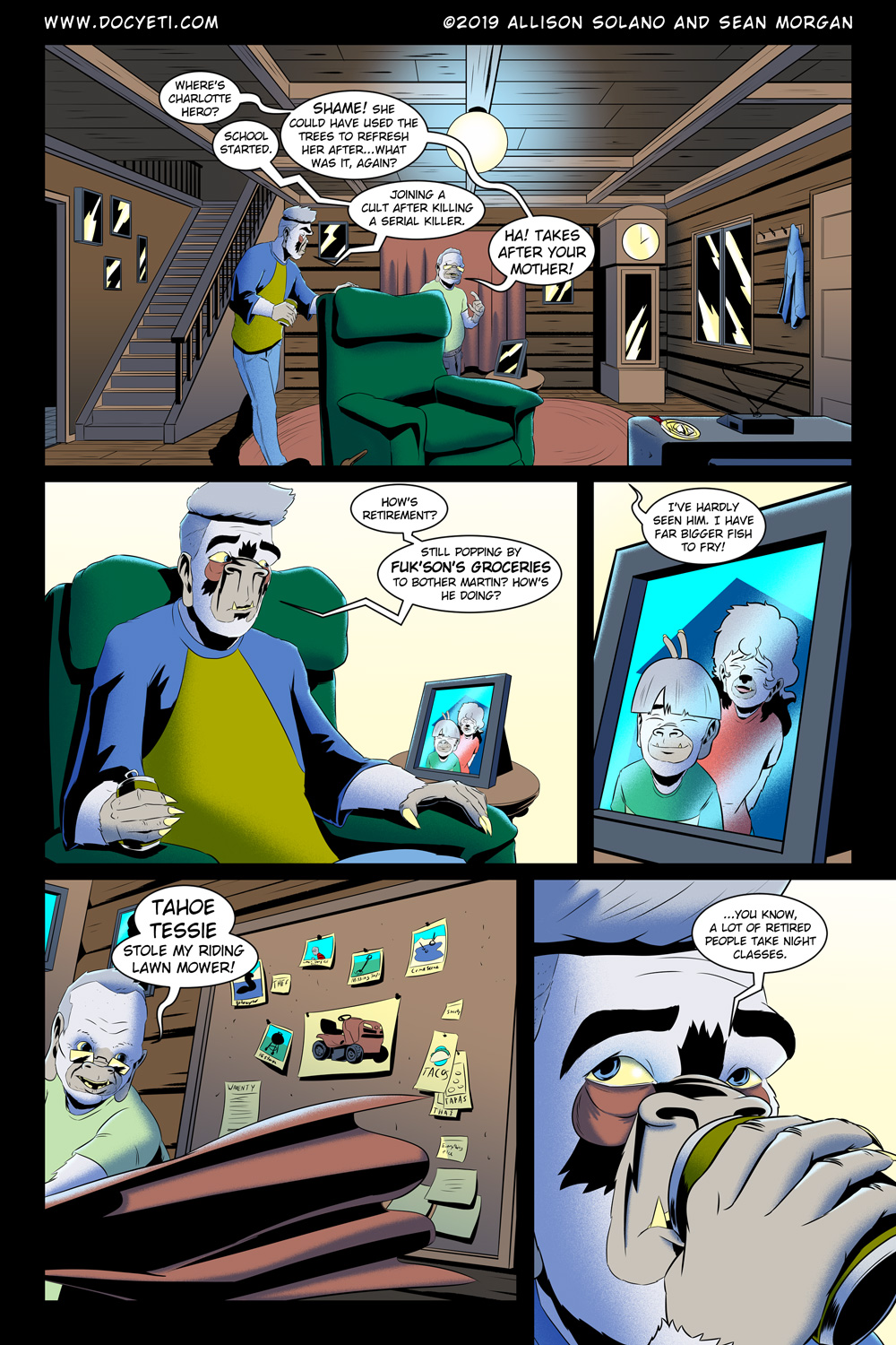 Hungry Eyes! Part 1 Page 3